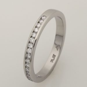 Ladies Platinum Diamond Eternity Ring