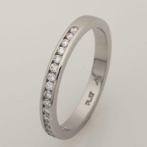 One Ladies Platinum Diamond Eternity Ring